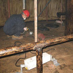 储罐内壁牺牲阳极阴极保护工程