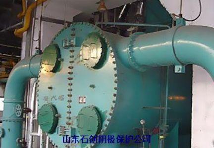 滨海热电厂海水循环水管道内壁外加电流阴极保护工程